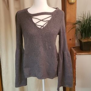 NWT American Eagle Bell Sleeved Sweater